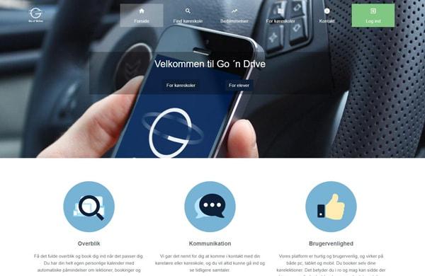 Case billeder af Go n drive